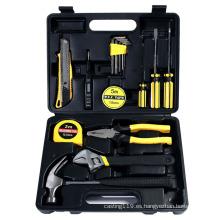 Kit de herramientas manuales, herramienta de reparación del hogar, kit de herramientas, caja de herramientas