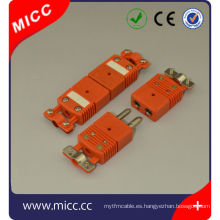 Conector de termopar tipo Omega N con conector hembra tipo pinza / n