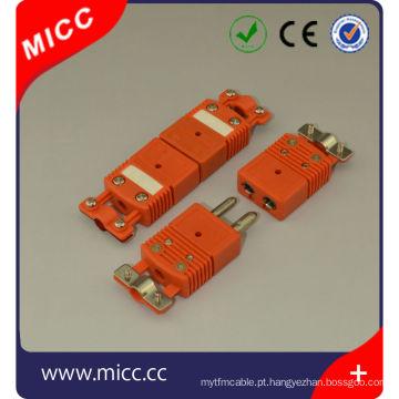 Conector de termopar tipo N Omega com braçadeira / conector fêmea tipo n