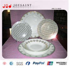 China Supplier All Types Elegant Round Porcelain Dinner Set