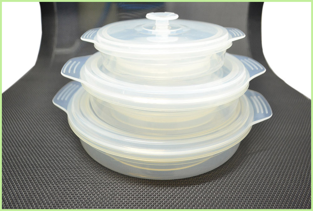 FDA Approved Silicone Folding Lunch Bowl