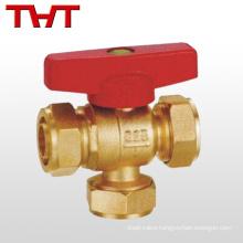 L type & T type Full-bore three way ball valve