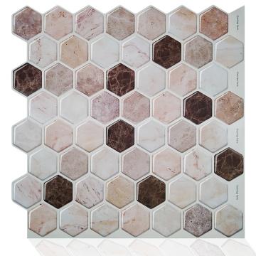 Adesivo de azulejos de papel de parede autoadesivo para decoração de casa