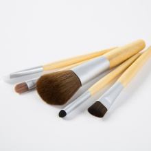 5PCS Bamboo Professional Makeup Brush Set for Beauty Makeup