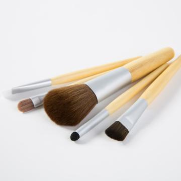 5 قطع الخيزران المهنية ماكياج فرشاة مجموعة للجمال ماكياج