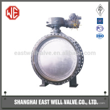 Motorized 96 inch butterfly valve