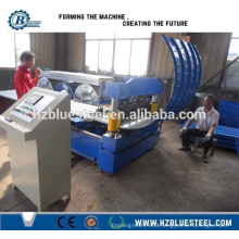 Stainless Steel Sheet Metal Crimping And Bending Machine Price, Roof Sheet Curving Machine
