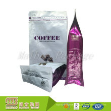 China Manufactuerer Custom Printing Moisture Proof Empty Packaging Coffee Tea Bag Valve Biodegradable