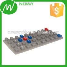 OEM Nichtstandard Verschiedene Farben Silikon Gummi Tastatur
