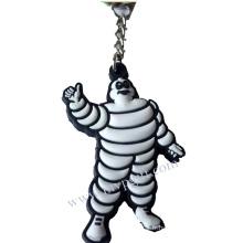 Porte-clés en plastique avec logo 3D (m-PK22)