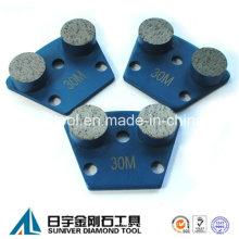 2 Round Diamond Segment Concrete Grinding Disc