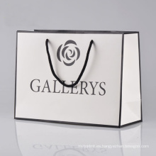 Bolsa de papel de alta calidad de impresión personalizada Bolsa de papel comercial