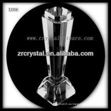 Premio de cristal en blanco K9