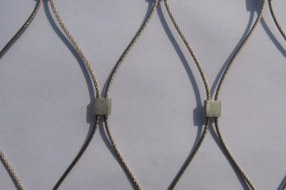 stainless steel Monkey enclosure rope mesh