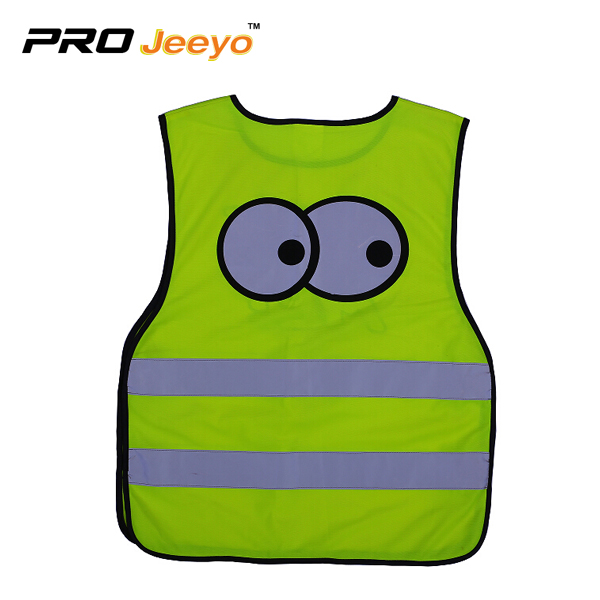 Children Big Eye Safety Warning Vest Svc Et002