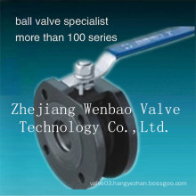 Carbon Steel Wafer Type Ball Valve Pn16/40