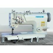 Tres agujas maquina de coser