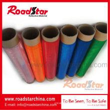 El cubrir reflexivo imprimible roll, prismático reflexivo del PVC