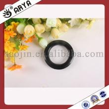 Schwarze Farbe Vorhang Ösen Ringe