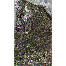 2018 ventas al por mayor copos gruesos / mixtos de brillo para vacaciones / Navidad / decoración de telas, cosméticos, uñas, maquillaje, etc.