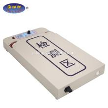 Detector de agulha de mesa de processamento de t-shirt