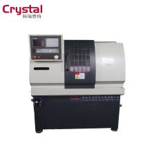 My test CK6125A cnc mini lathe/portable lathe machine/type cnc lathe