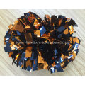 Navy and Orange POM POM