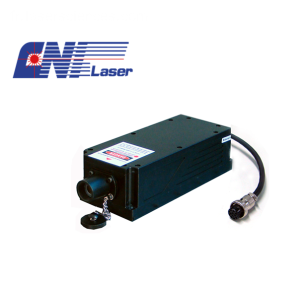 Laser en mode longitudinal angulaire de 473 nm