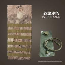 Venda quente esporte tático água potável saco saco saco militar portátil