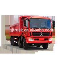 Dayun marque 8X4 camion à benne basculante pour 10-28 mètres cubes
