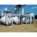 Hot air flow heating engine oil scrap refinery equipment BZL-25
