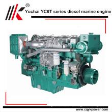 Motor marinho diesel interno do cilindro 540hp do motor 6 do barco do curso 4 for sale