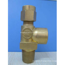 Válvula de Cilindro de Aço Inoxidável de Alta Pressão