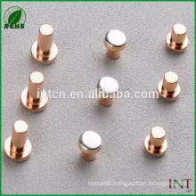 Electrical appliance parts AgCu bimetal rivets