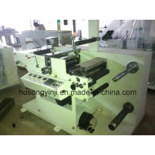 Corte rotativo con máquina cortadora para etiquetas planas