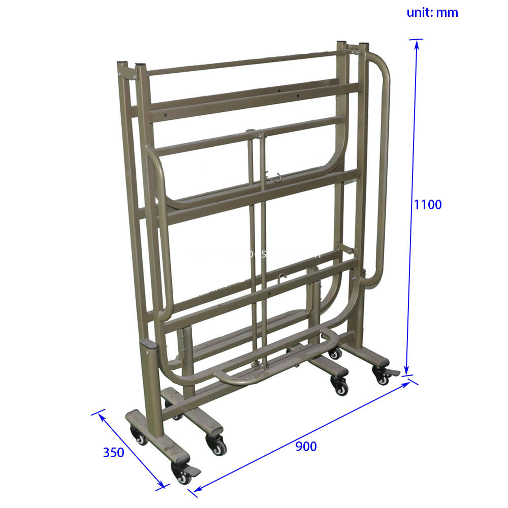 CFF0009 Army Camp Steel Folding Bed Frame Size
