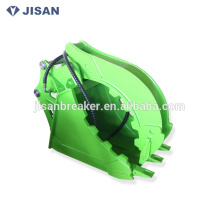 High quality Abrasion resistant excavator Clamp Grab Bucket for 1-50t excavator