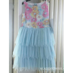 Embroidered Tata party dress