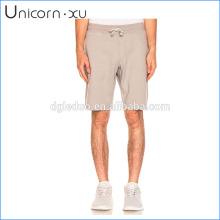 Bolsos de costura lateral shorts de suor por atacado crossfit / shorts de lã