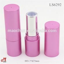 Empty round lipstick tube