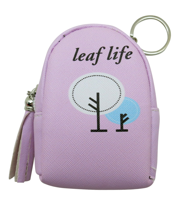 Tree Coin Purse Keyring 1