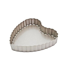 Heart-shaped Removable Pie Dish