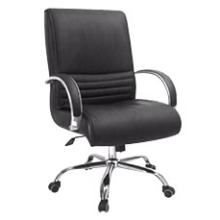 Modern Middle Back Swivel Leather Meeting Office Conference Chair (HF-BLA174B)