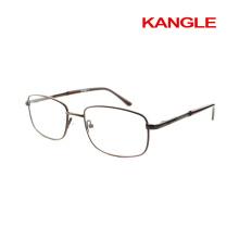 Más barato económico línea básica clásica Hombre marcos ópticos metal / anteojos de metal