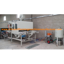 metal shingle stone coated steel roof machine Vermiculite steel tile production line