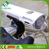 60 lumens bicycle led light 5 white led powered bike front light