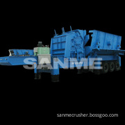 PP Series Small Portable Crusher for Construction Waste Recycling Management