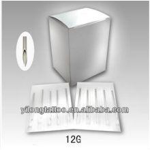 Agulha de perfuração G12 316L inox