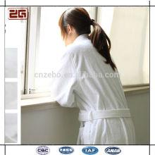Guangzhou suministro 100% algodón de lujo al por mayor W Hotel Albornoz