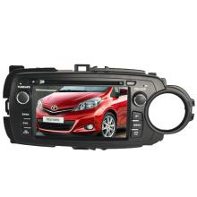 2DIN Car DVD-Player Fit für Toyota Yaris 2012 2013 mit Radio Bluetooth-Stereo-TV-GPS-Navigationssystem